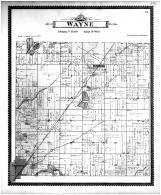 Wayne Township, Glenwood, Dowagiac, Cass County 1896